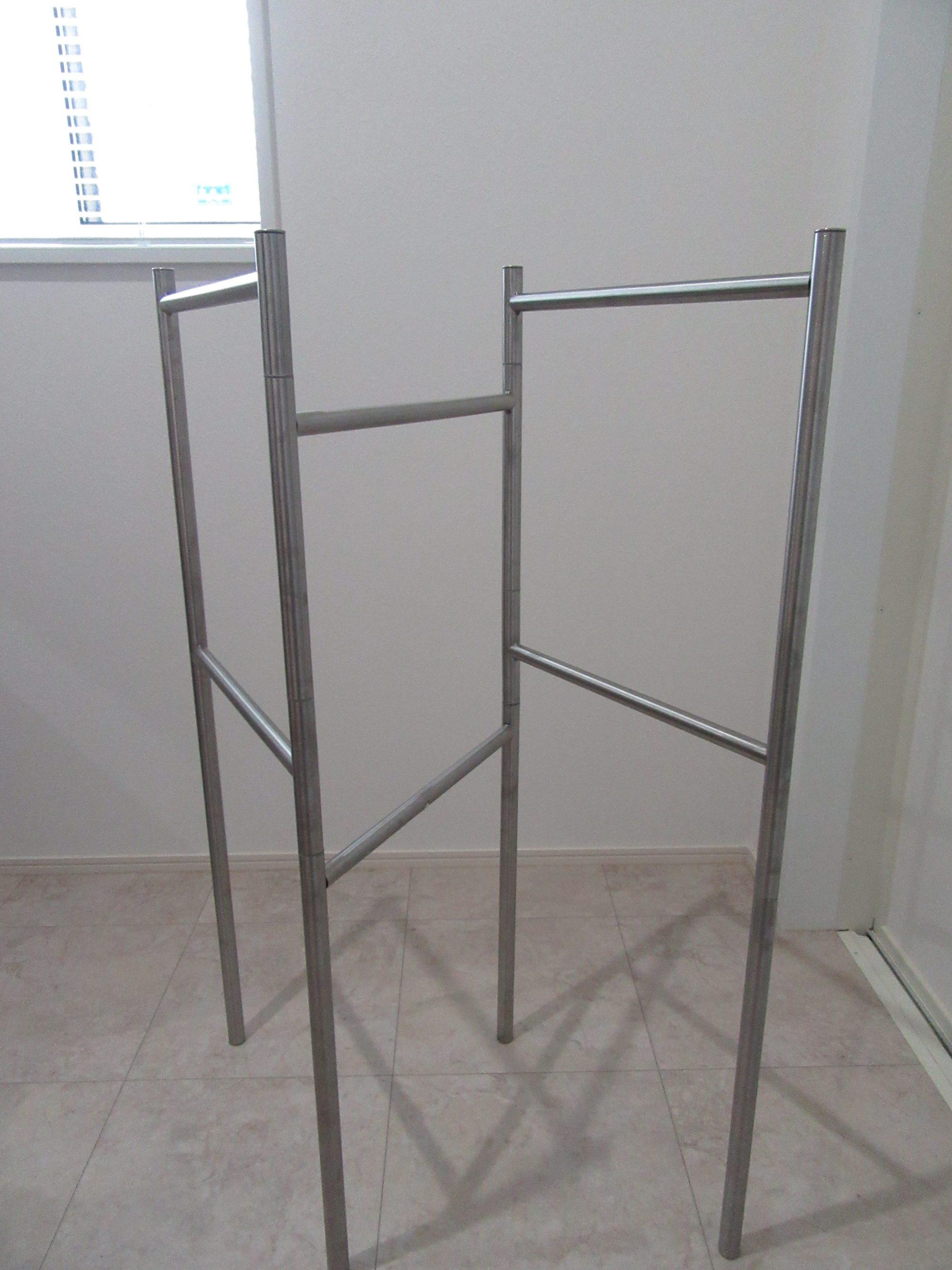IKEAのタオルスタンドのBROGRUNDを洗面室に置いてみた