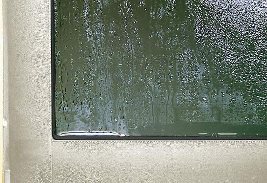 サーモスⅡ-H窓の結露(11月編)