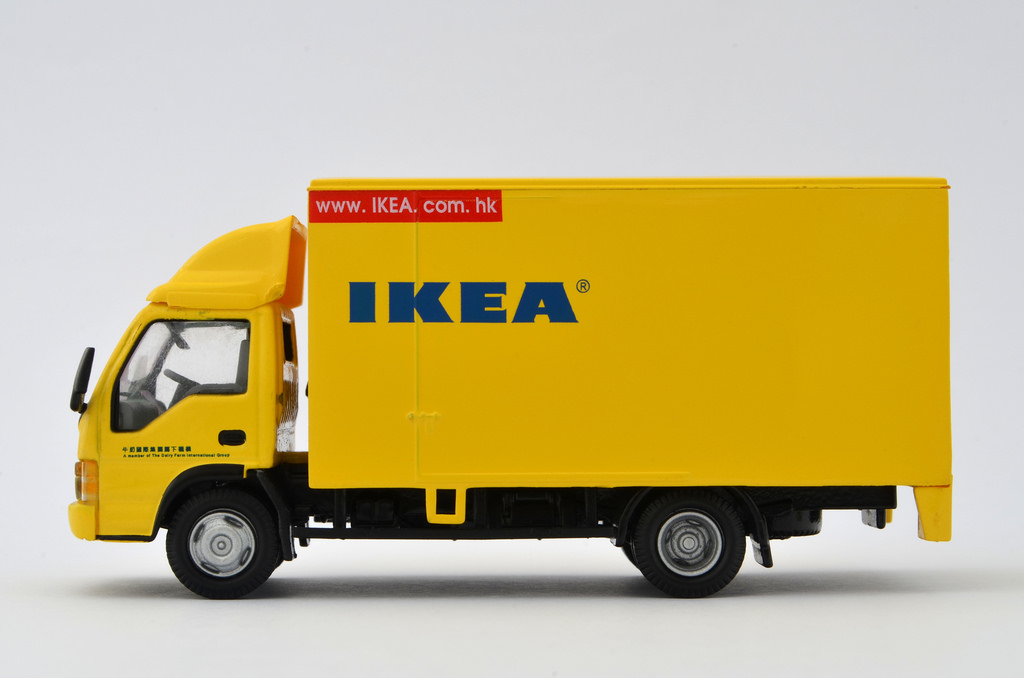 IKEAが広島にできないので配送サービスを利用しよう!