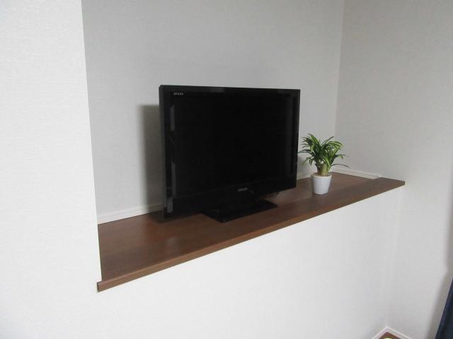 「web内覧会」主賓室とテレビニッチ